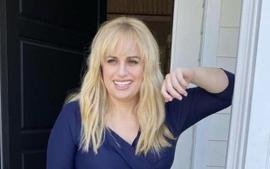 Rebel Wilson Rocks Little Black Dress In Funny And Cute Facebook Portal Ads After 50 Pounds Weight Loss!