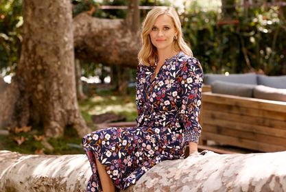 Reese Witherspoon's Draper James Floral Shirtdress On Sale — See The Look