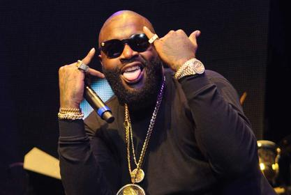 Rick Ross Consoles Nate Robinson After Jake Paul Beats Him In Boxing Match