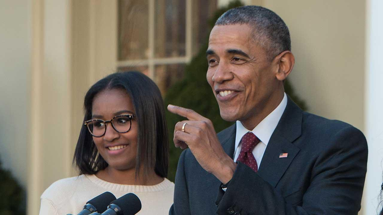 Barack Obama Jokes That His Younger Daughter Sasha Scares Him - She's A 'Mini Michelle!'