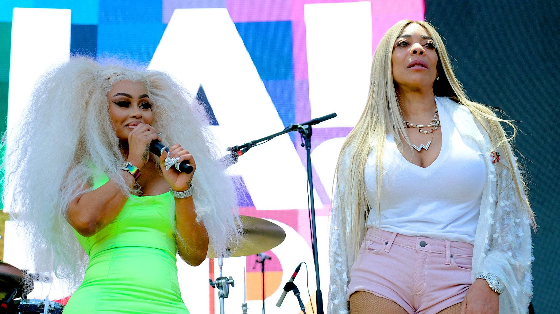 Wendy Williams Blurts Out That Blac Chyna Has No Place To Live During Her Show!