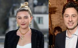 Zach Braff Raves About His 'Intelligent And Articulate' Girlfriend Florence Pugh After She Fiercely Defends Their Age Gap From Haters!