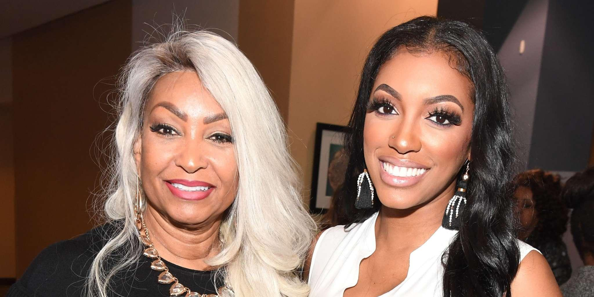 Porsha Williams Celebrates The Birthday Of Her Mom's BF - Check Out Diane's Funny Video With Him