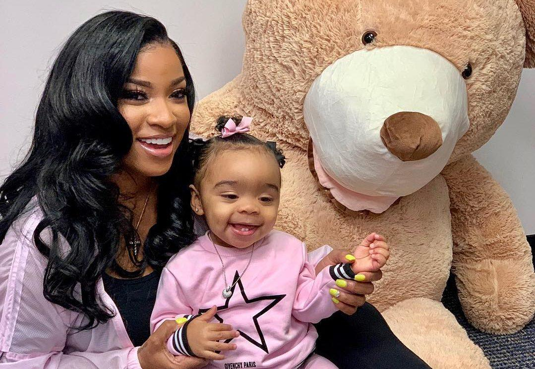 Toya Johnson's Video Featuring Reign Rushing Dancing Will Make Your Day - Watch It Here!
