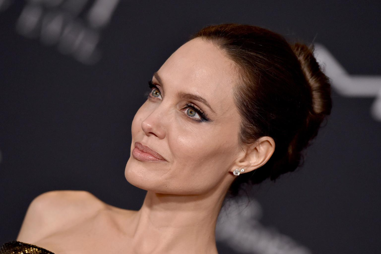 Angelina Jolie Has Some Great Advice For Victims Of Domestic Abuse Stuck With Their Abusers During The Holidays!