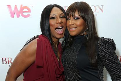 Towanda Braxton Makes Fans Smile With This Video Featuring Her Sister, Trina For Her Birthday