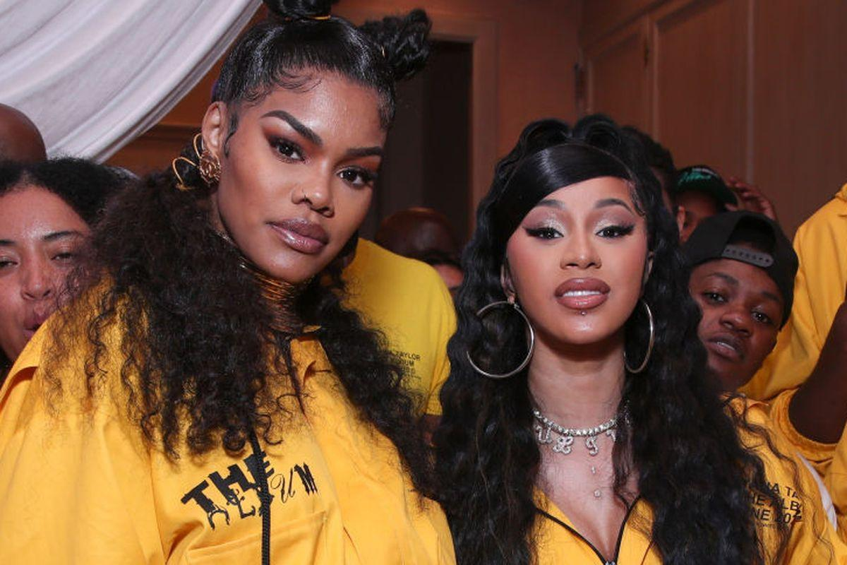 Cardi B Shows Love To Teyana Taylor After She Announces Her Retirement - Says Her Album Was Her Favorite Of 2020!