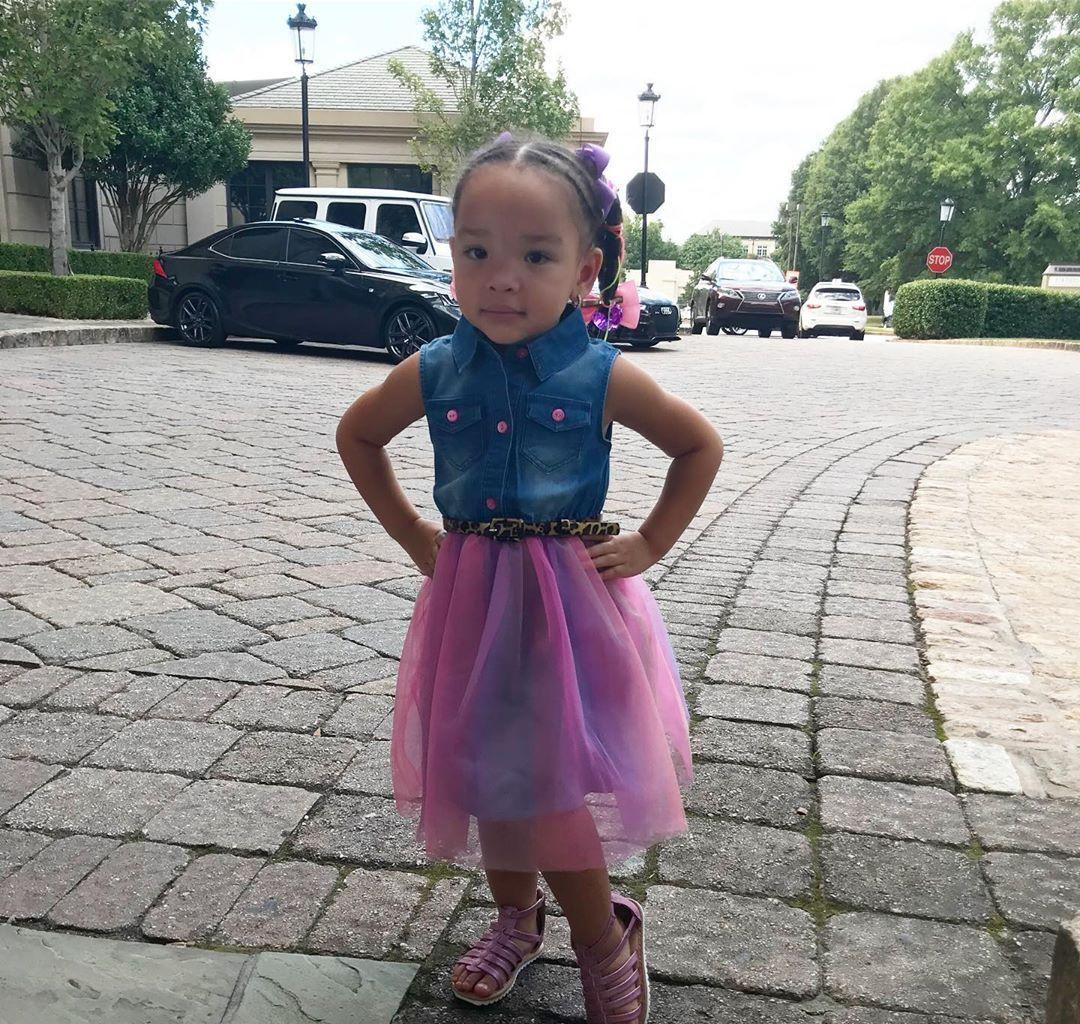 Tiny Harris' Daughter, Heiress Harris Is Learning Harmony Now - Check Out The Clip
