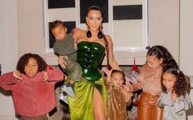 Kanye West Missing From Kim Kardashian's Family Christmas Photos