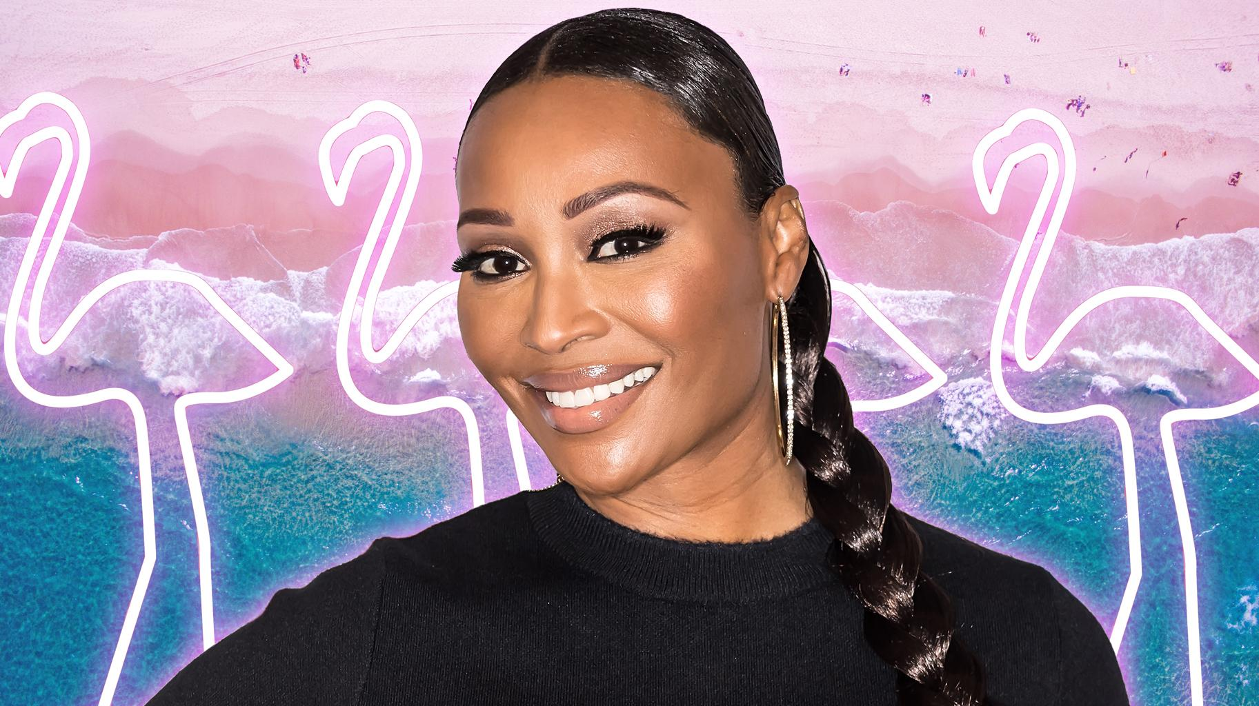 Cynthia Bailey Shares Throwback Photos From Magazine Covers And Haters Accuse Her Of Using Satanic Symbols