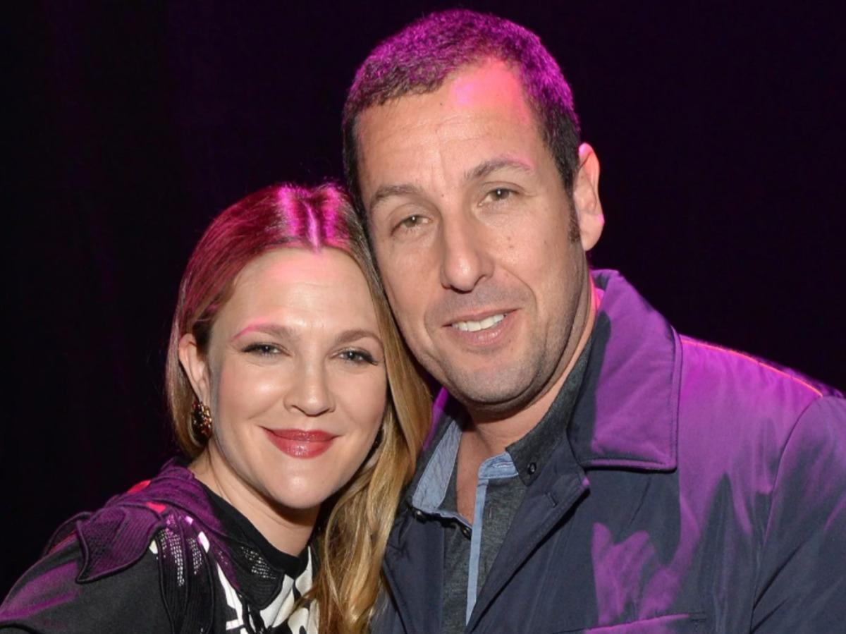 Adam Sandler Appears On The Drew Barrymore Show And They Can't Stop Spreading The Love After Winning MTV's Movie And TV Awards: Greatest Of All Time Dynamic Duo
