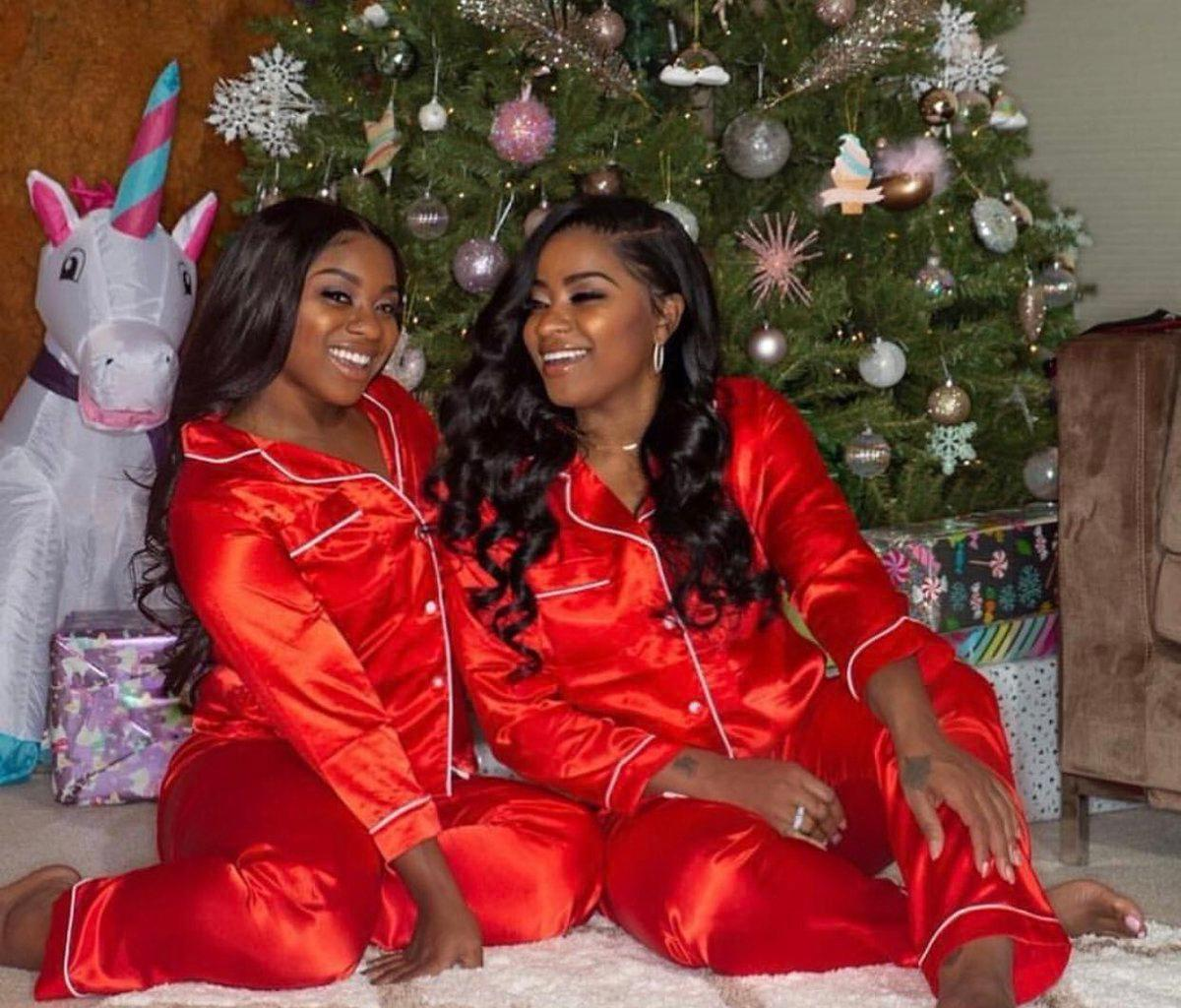 Toya Johnson Is Shining With Her Daughter, Reginae Carter In This Christmas Photo