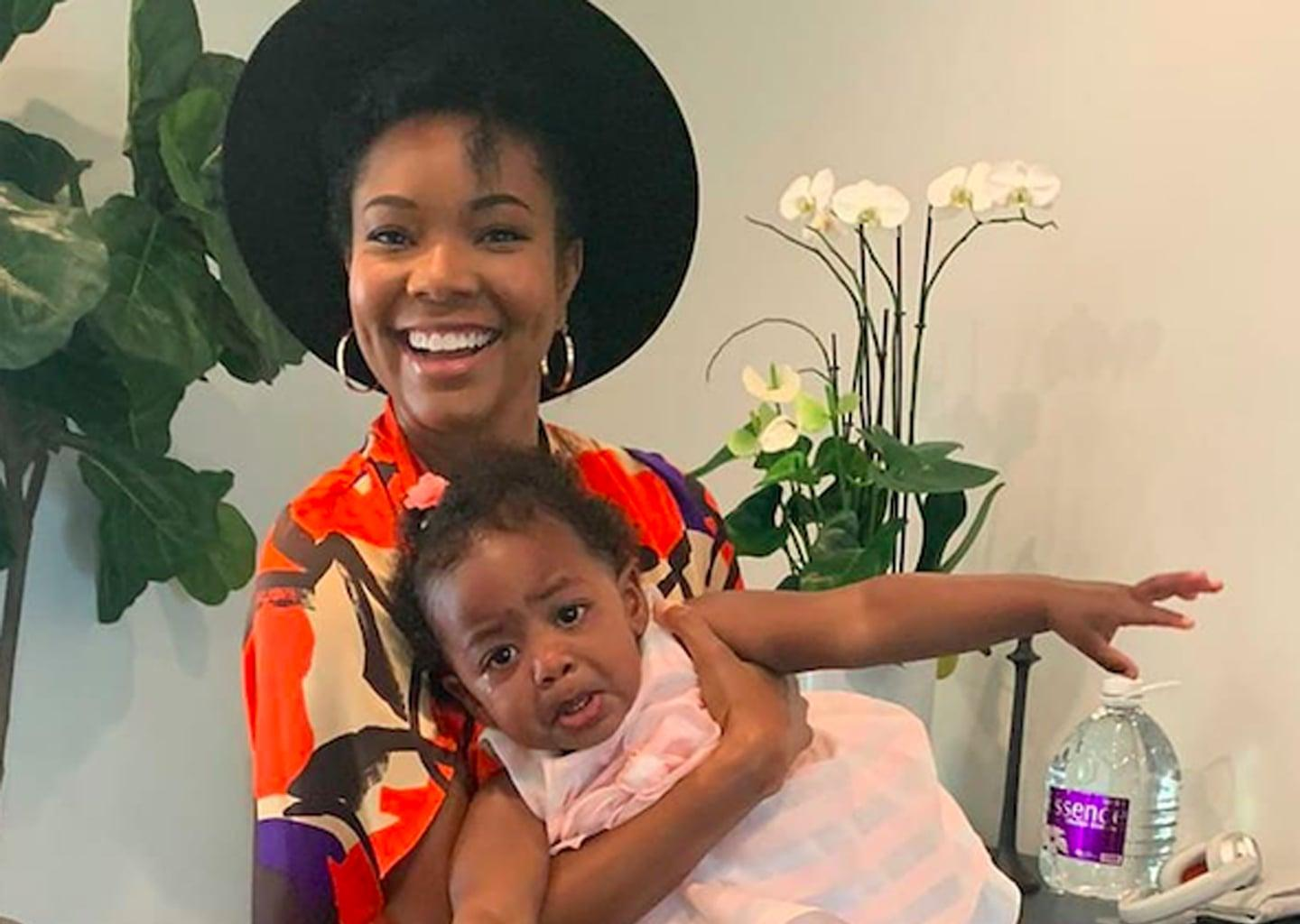 Gabrielle Union Shares Rare Photos Of Her Daughter, Kaavia James Smiling - See Them Here!
