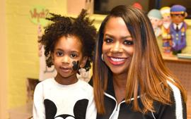 Kandi Burruss Lets Fans Know That Her Son, Ace Wells Tucker Is Officially An Actor