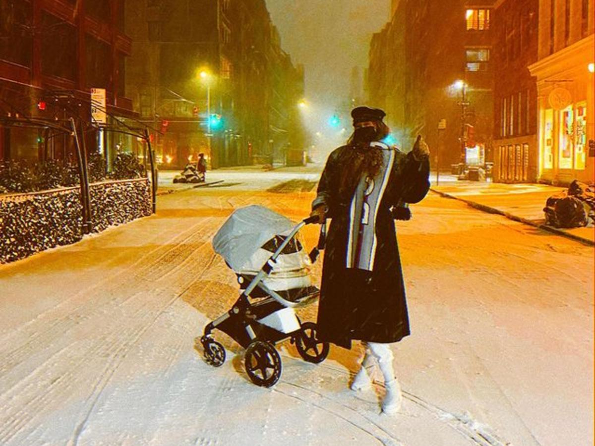 Gigi Hadid Slammed For Taking Three-Month-Old Baby Daughter Out In Nor'Easter