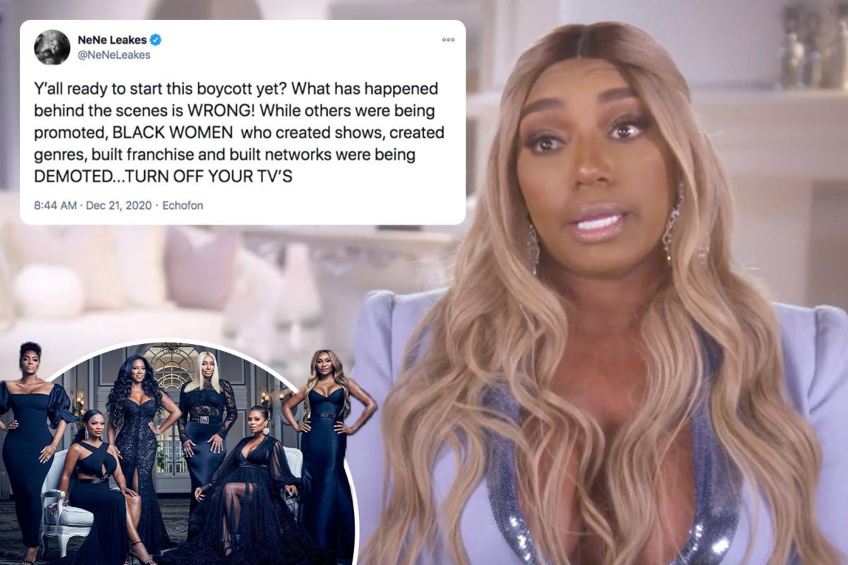 NeNe Leakes Addresses RHOA Mistreatment And Boycott - See Her Video And Messages