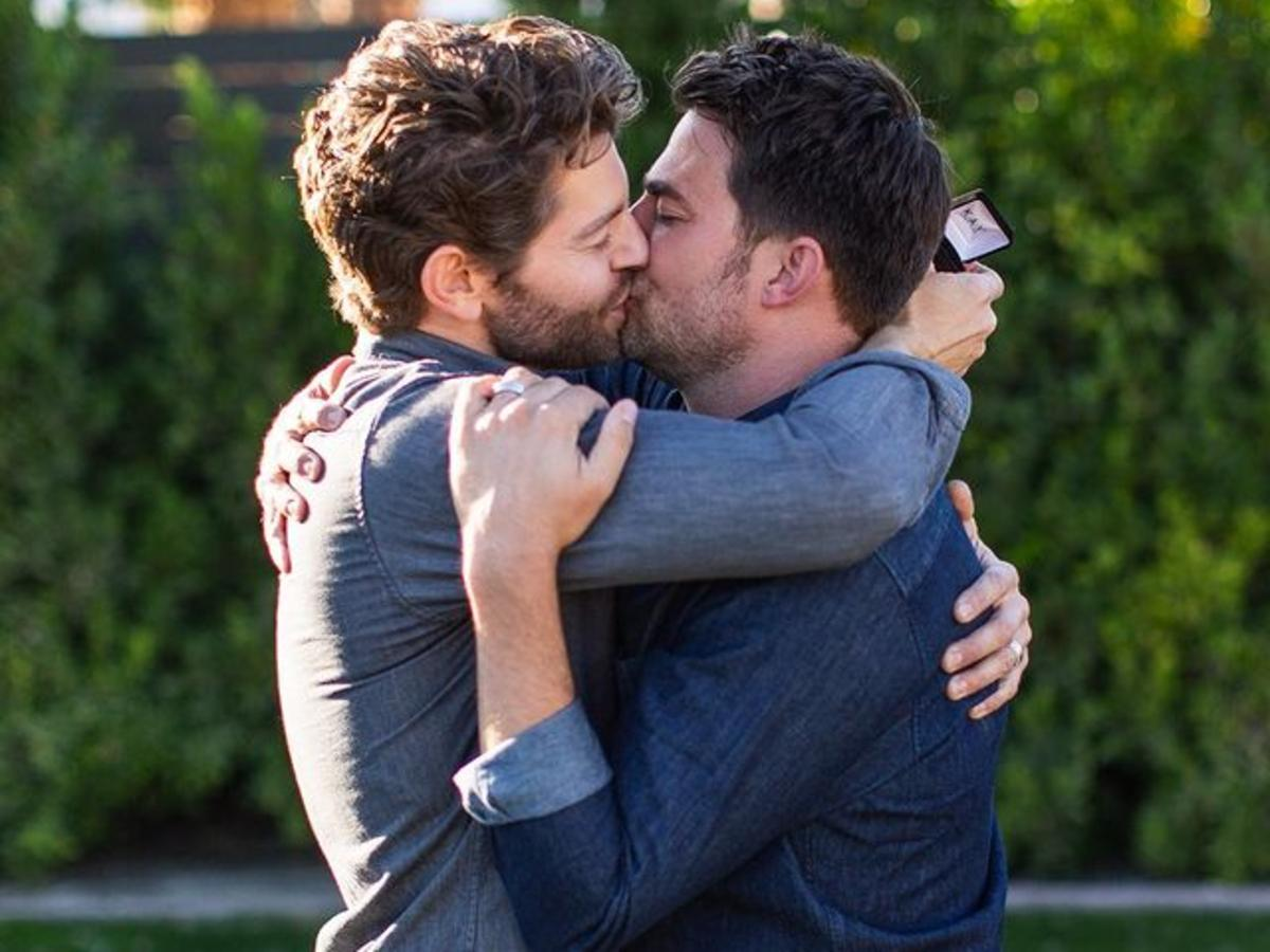 Jonathan Bennett And Jaymes Vaughan Are Engaged As Mean Girls Actor Stars In Hallmark's First Movie With Same-Sex Characters On 'The Christmas House'