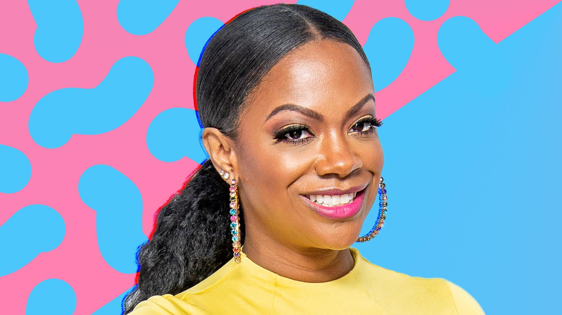 Kandi Burruss' Photo With Blaze Tucker Makes Fans Laugh - Check Out The Funny Caption