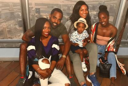 Kandi Burruss Shares Gorgeous Christmas Family Photo - See How Amazing Riley Burruss And Kaela Tucker Look! Ace Reminds Fans Of Nipsey Hussle