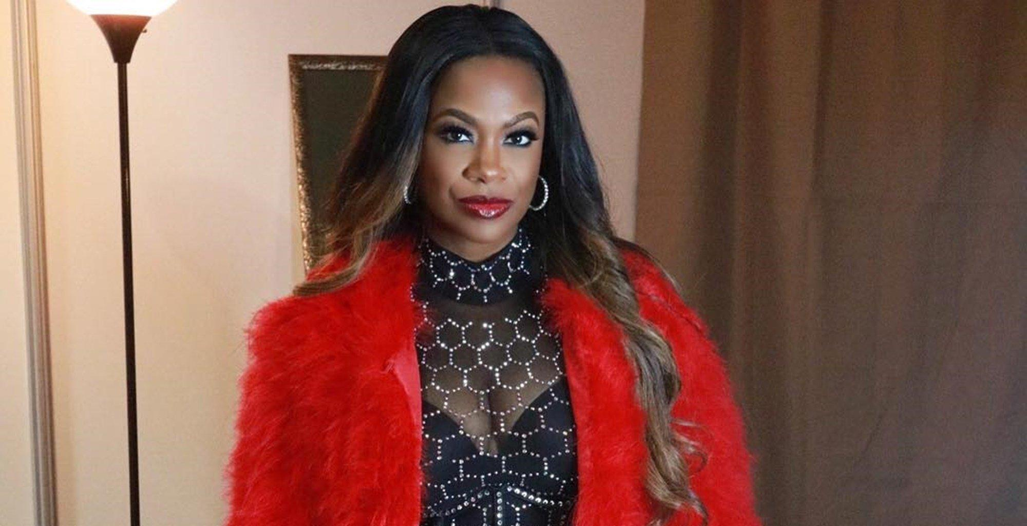 Kandi Burruss Hangs Out With Her Favourite Guys - See Her Photo And Their Elegant Outfits