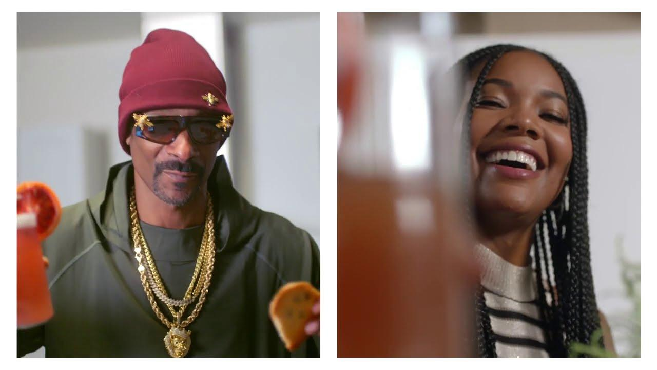 Gabrielle Union Praises Snoop Dogg's Baking Skills - See Their Video Together