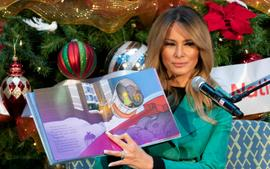 Melania Trump Receives Backlash For Removing Her Mask While Reading To Sick Kids In A Hospital!