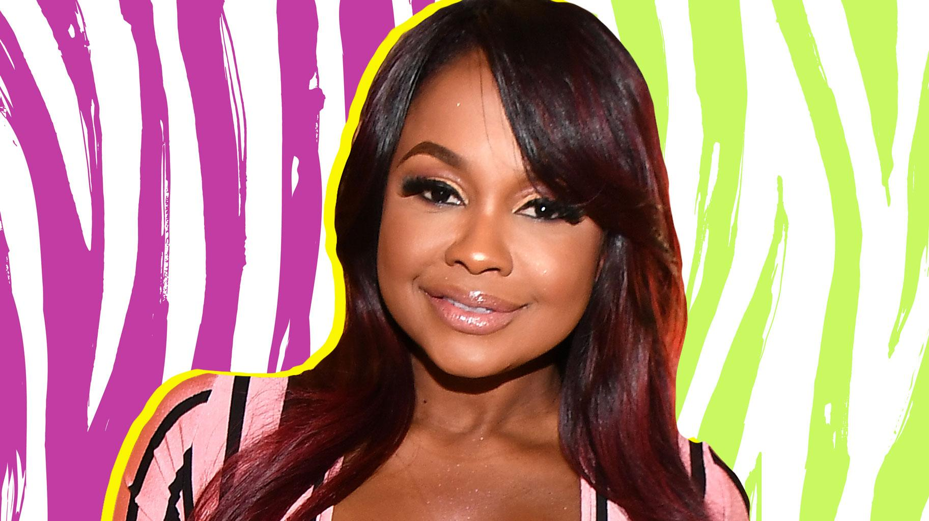 Phaedra Parks Looks Gorgeous In This Pink Dress - Hear Her Sensual Voice In This Video
