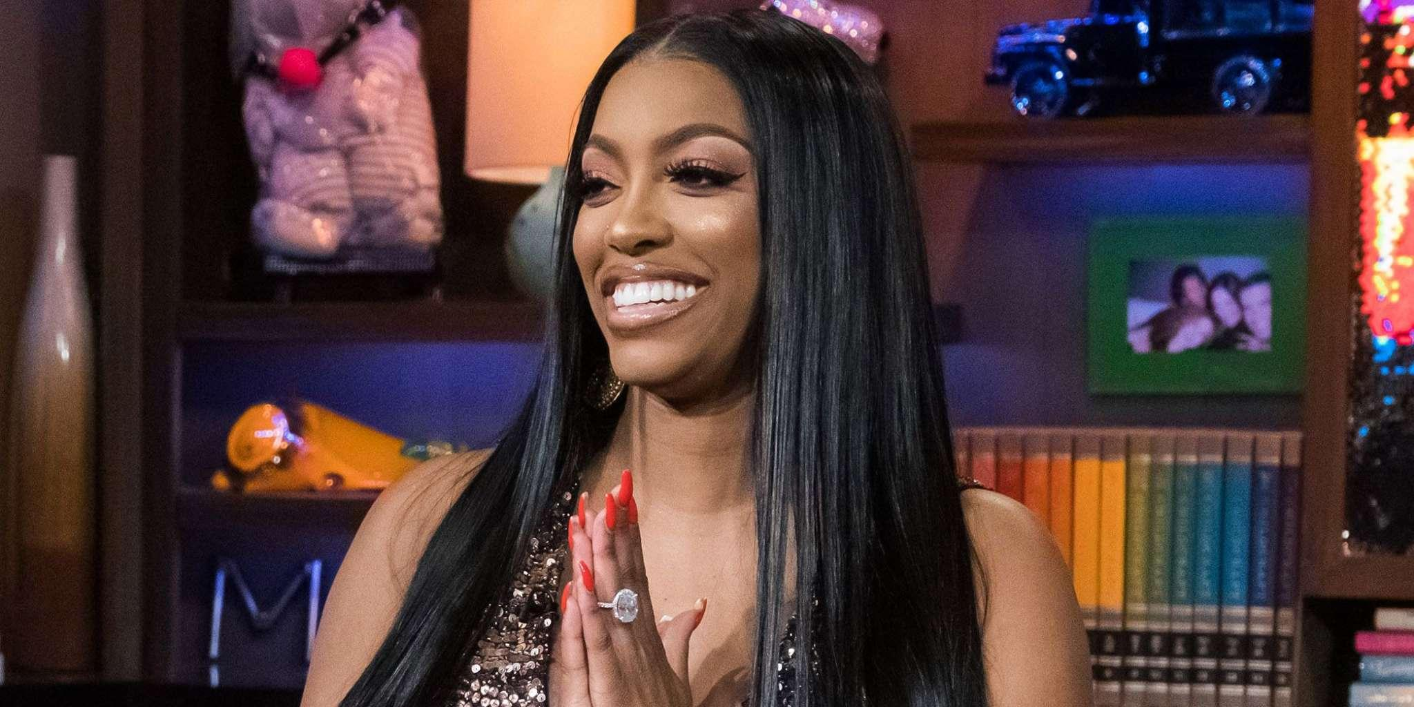 Porsha Williams Rocks A Jaw-Dropping Black Latex Outfit At A Party - Check Out The Pics