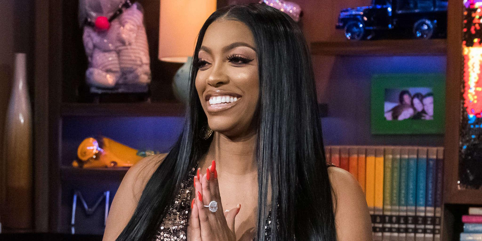 Porsha Williams Is Slaying In This Black And White Outfit - See Her Pic