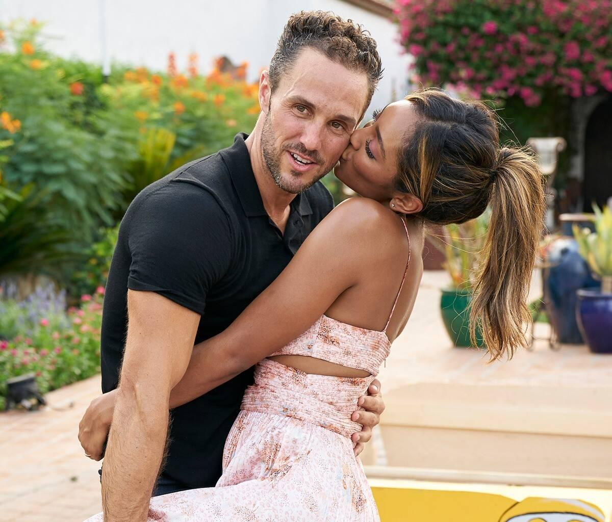 Tayshia Adams Fiance's Ex-Wife Sounds Off About Their Past Relationship And If He Joined The Bachelorette For The Right Reasons