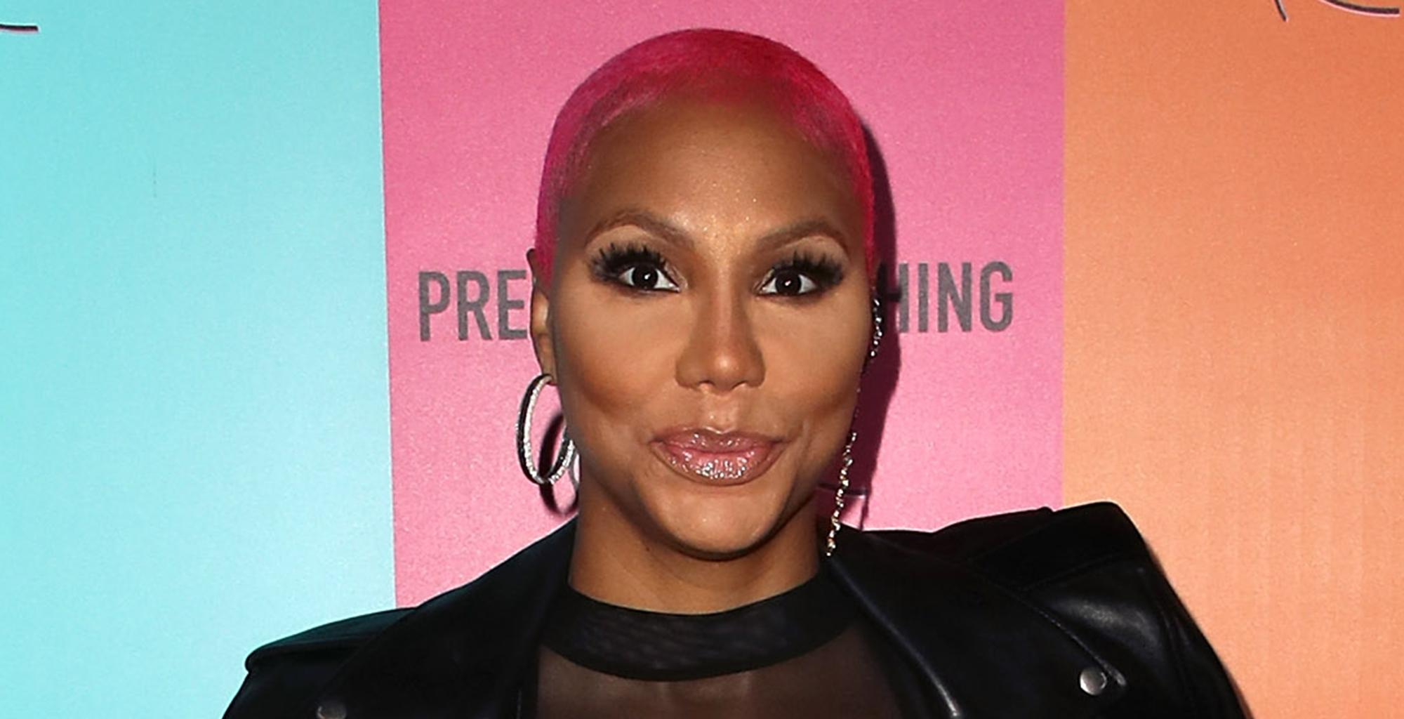 Tamar Braxton Drops A Holiday Message About Bling And Cars