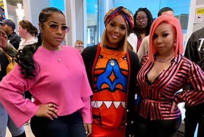 Rasheeda Frost And Tiny Harris Remember Kim Porter - Check Out Their Photo Together
