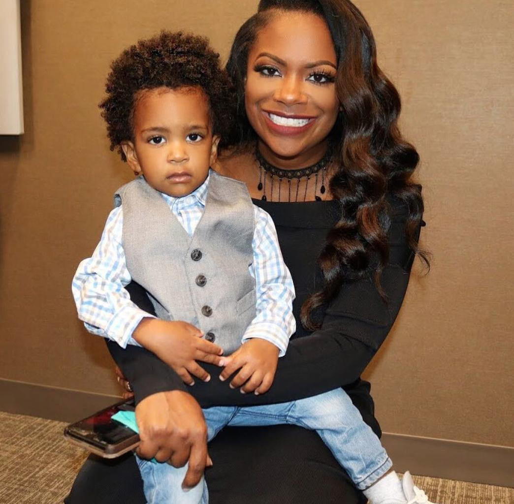 Kandi Burruss Shares A Photo Featuring Her Son, Ace Wells Tucker And Makes Fans' Day With It