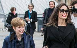 Angelina Jolie And Brad Pitt's Daughter Shiloh Is As Tall As Her Mom In New Pics - Check It Out!