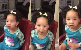 Tiny Harris And T.I.'s Daughter Heiress Sheds Tears In Adorable Video And Her Mom Is Impressed By Her Acting!