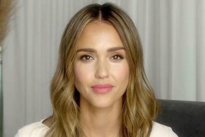 Jessica Alba Puts Her Enviable Figure On Full Display In A Black Mini Dress