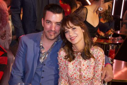 Jonathan Scott Pays Sweet Tribute To Zooey Deschanel On Her Birthday!