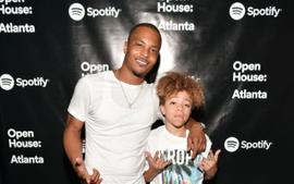 T.I. Promotes The New Music Of His Son, King Harris