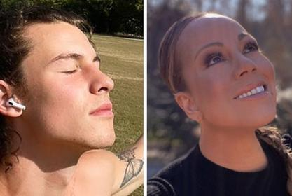 Mariah Carey Hilariously Recreates Shawn Mendes Post In Which He Gushes Over Her 'Old Songs'