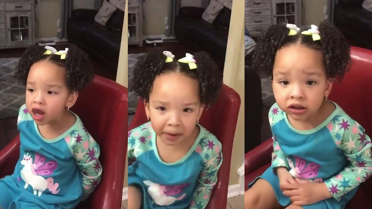 Tiny Harris Makes Fans' Day With This Video Featuring Heiress Harris With Braided Hair!