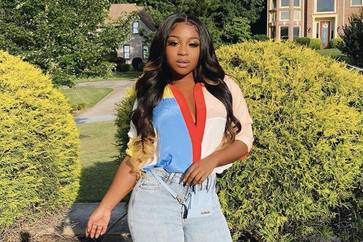 Reginae Carter Flaunts Her Toned Body In A White Savage X Fenty Outfit