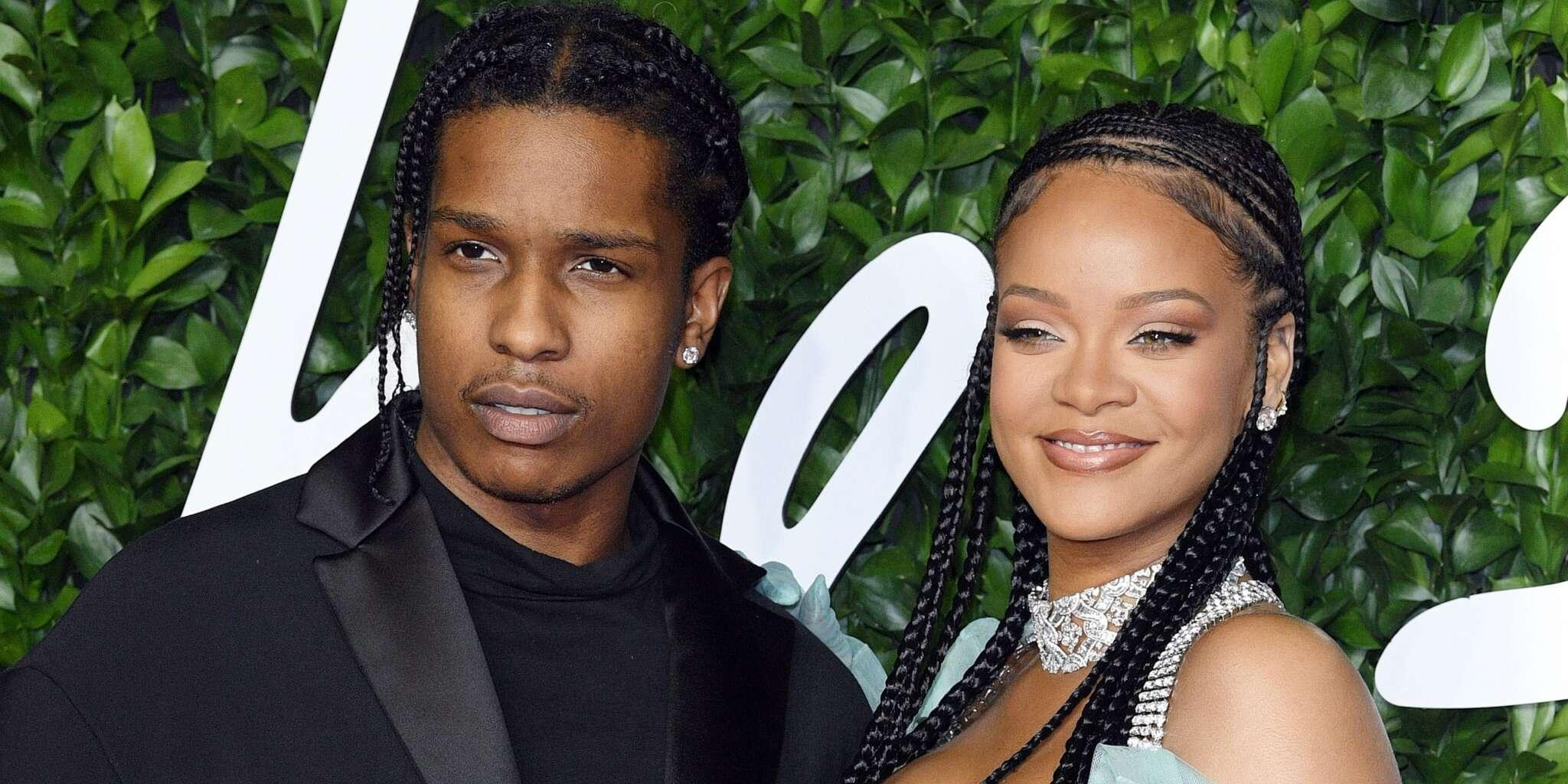 Rihanna And ASAP Rocky - Here's How Her Loved Ones Reacted To Rihanna Bringing Her New BF Home For The Holidays!