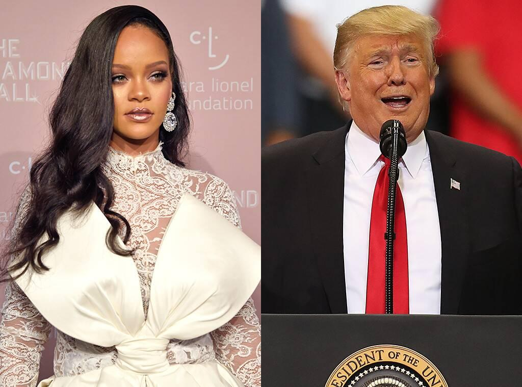 Rihanna Takes 'Trash' Donald Trump Out In A New Hot Pic - Check It Out!