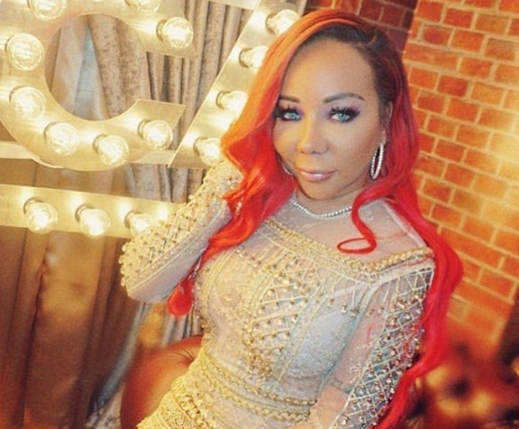 Tiny Harris Is Slaying In This Latex Black Outfit - See Her Photo Here