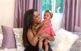 Kenya Moore Flexes For The Gram And Shows Of Her Beach Body - Check Out Her Photo Featuring Baby Brookie