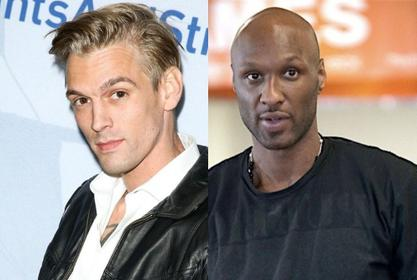 Lamar Odom And Aaron Carter Share Back-And-Forth Trash Talking Ahead Of Their Upcoming Boxing Match