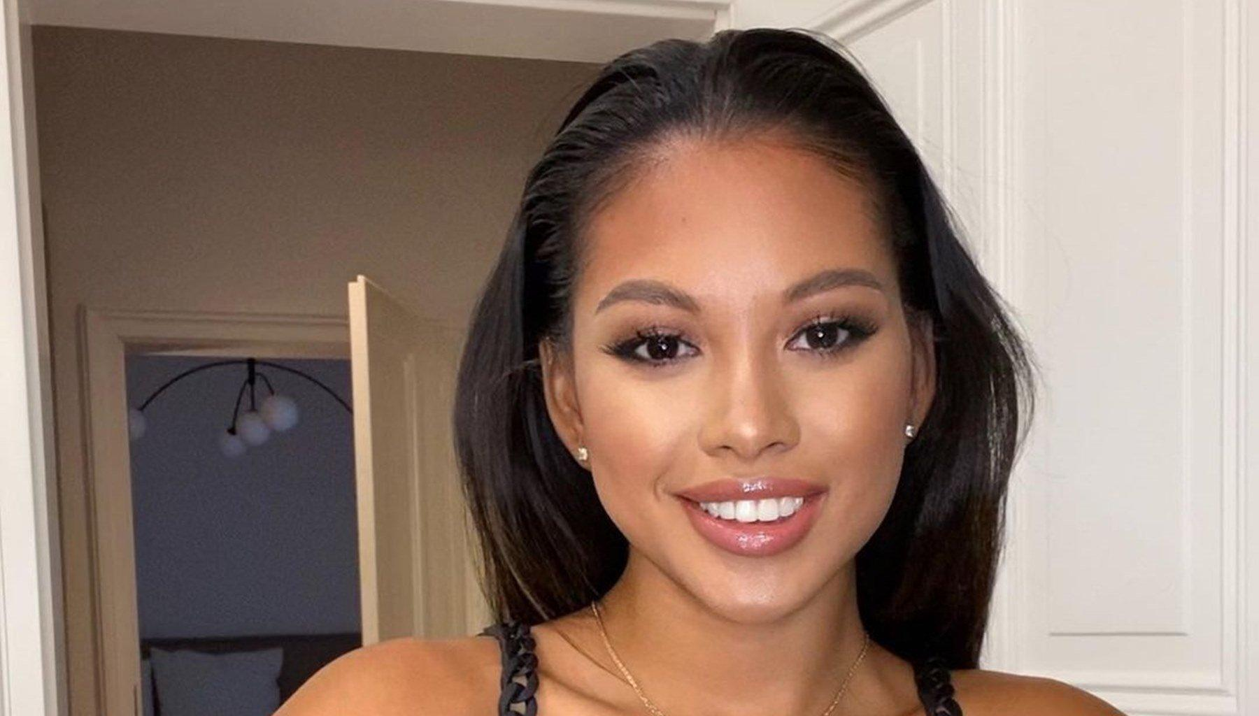 Chris Brown's Baby Mama, Ammika Harris Is Waiting For Gyms To Reopen