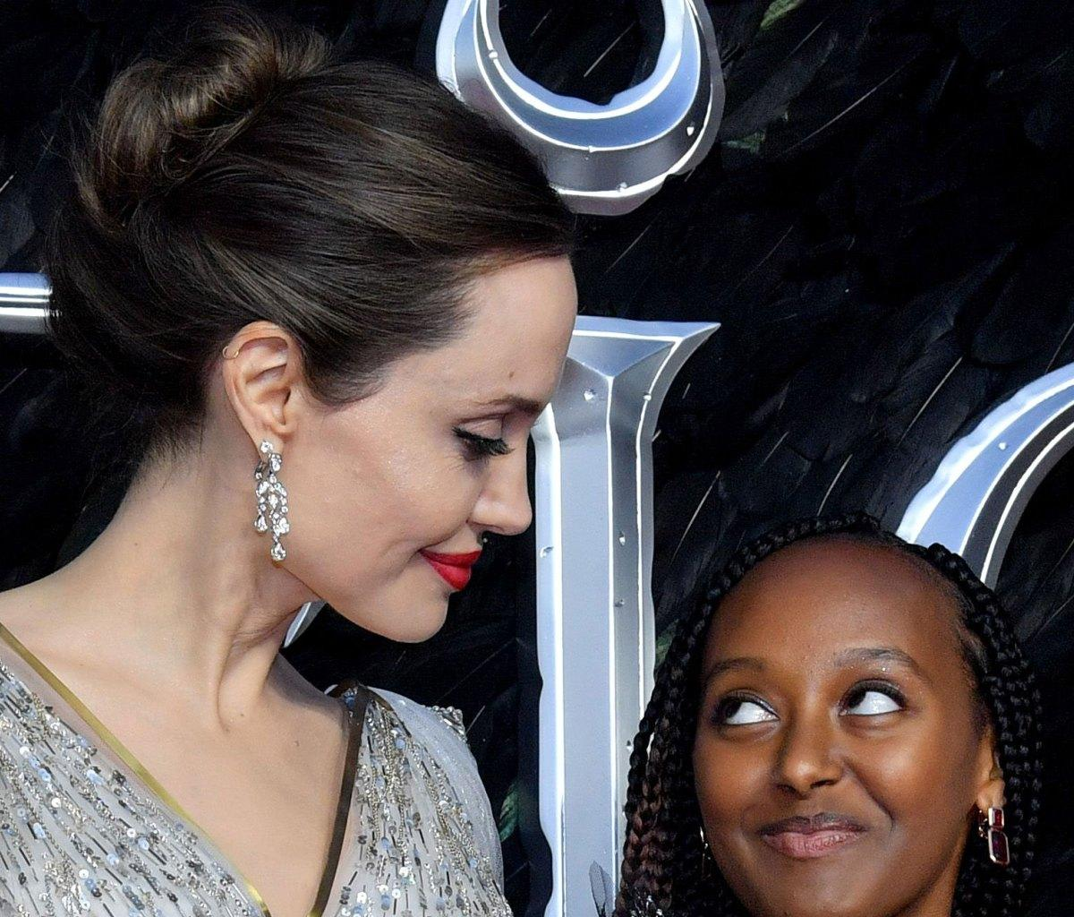 Angelina Jolie And Daughter Zahara Have A Really Special Connection Thanks To This Perfume They Both Like To Wear!