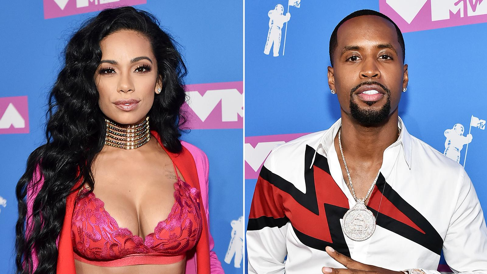 Safaree's Video Featuring Erica Mena Riding With Him Has Fans Laughing Their Hearts Out And Congratulating Her