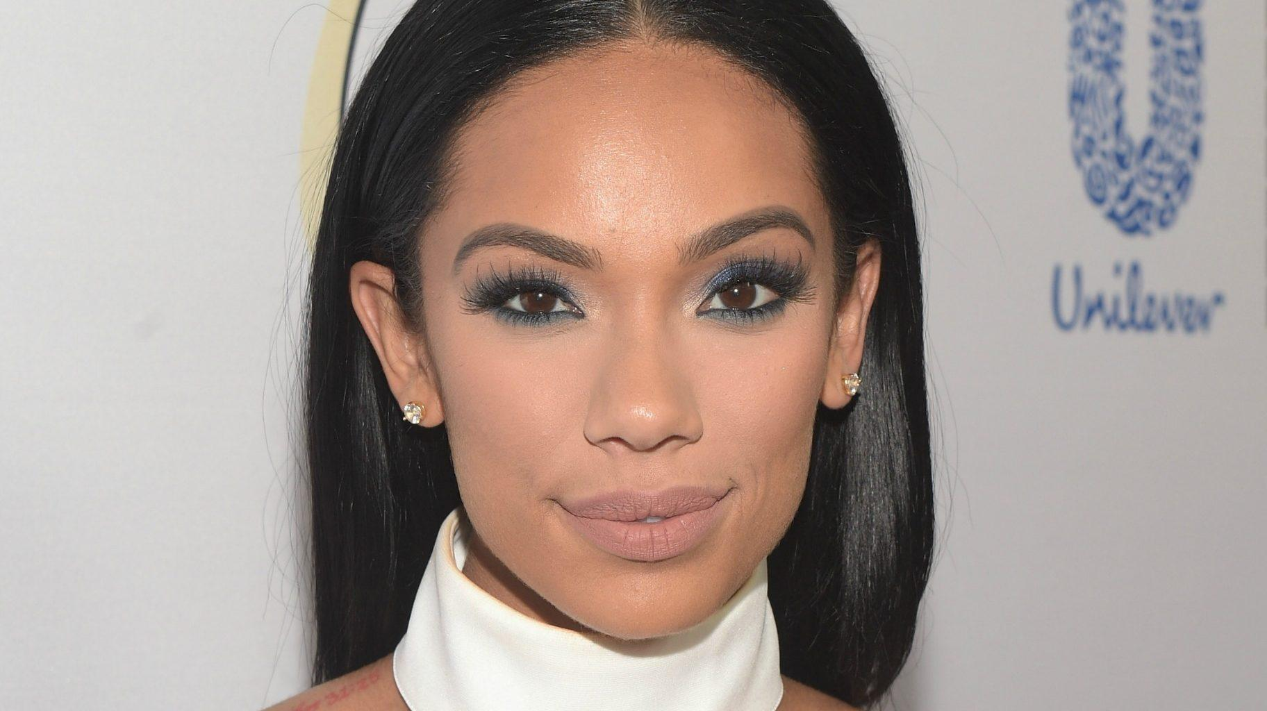 Erica Mena Leaves Nothing To The Imagination While Showing Off Her Curves In This See-Through Dress
